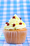 Delicious cup cake with stars Royalty Free Stock Photography