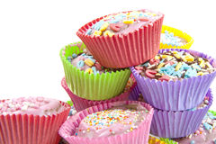 Delicious cup cakes Royalty Free Stock Image