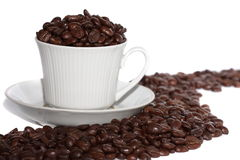 delicious cup of coffee Royalty Free Stock Images