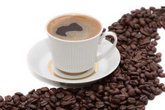 Delicious cup of coffee Stock Photography