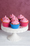 Delicious cupcake. Delicious color cupcake, selective focus Royalty Free Stock Photos