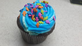 delicious cupcake Stock Photography