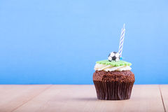 Delicious cupcake on table Royalty Free Stock Photography