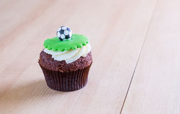 Delicious cupcake on table Stock Images