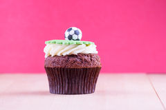 Delicious cupcake on table Royalty Free Stock Image