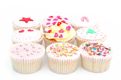 Delicious cupcakes Royalty Free Stock Photo