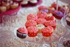 Delicious cupcakes Royalty Free Stock Photos