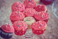 Delicious cupcakes Royalty Free Stock Photo