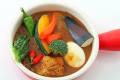 Delicious curry Stock Photos