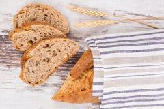 Delicious dark bread. Royalty Free Stock Photos
