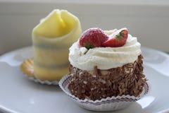 Delicious dessert stock images