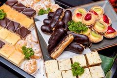 Delicious dessert assortment Stock Photography
