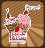 Delicious dessert Royalty Free Stock Images