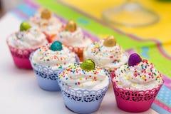 Delicious dessert muffins Stock Photo