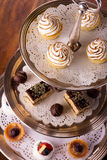 Delicious dessert selection Royalty Free Stock Image