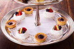 Delicious dessert selection Royalty Free Stock Photography