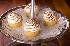 Delicious dessert selection Royalty Free Stock Photos