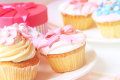Delicious dessert table for big party Royalty Free Stock Images