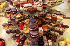 Delicious desserts Stock Image