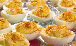 Delicious Deviled Eggs Royalty Free Stock Photos