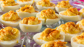 Delicious Deviled Eggs Royalty Free Stock Images