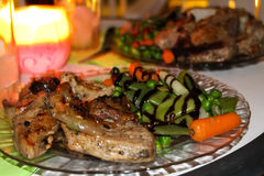 Delicious dinner Royalty Free Stock Photography