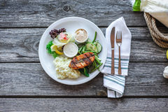 Delicious Dinner Royalty Free Stock Photo