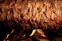 Delicious Doner Kebab Stock Photography