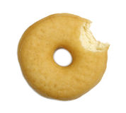 Delicious donut isolated Royalty Free Stock Images