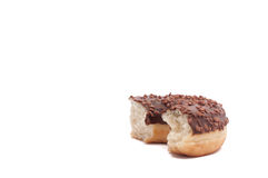 Delicious Donut with Sprinkles Isolated on White Background.  stock image
