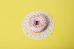 Delicious donut Stock Photography