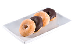 Delicious donuts. Royalty Free Stock Images