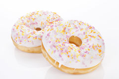 Delicious donuts. Royalty Free Stock Photography