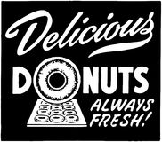 Delicious Donuts Stock Images