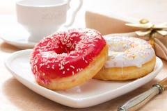 Delicious doughnut Royalty Free Stock Photos