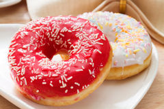 Delicious doughnut Royalty Free Stock Image
