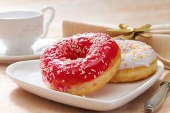 Delicious doughnut Stock Photography