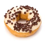 Delicious doughnut isolated on white background Royalty Free Stock Images
