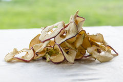 Delicious dried apples Stock Images