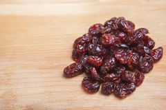Delicious dried blueberries Stock Photography