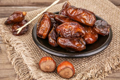 Delicious dried date Royalty Free Stock Image