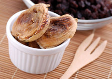 Delicious dried figs Royalty Free Stock Photos