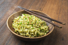 Delicious dried noodles Stock Images