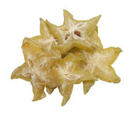 Delicious dried starfruit Stock Photo
