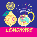 Delicious drink lemonade Royalty Free Stock Photography