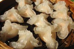 Delicious dumplings royalty free stock image