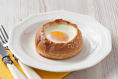 Delicious egg for breakfast Royalty Free Stock Images