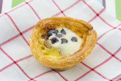 Delicious Egg tart Royalty Free Stock Image