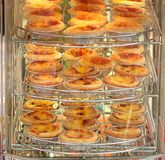 Delicious Egg Tarts for Sale Royalty Free Stock Image
