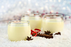 Delicious Eggnog Royalty Free Stock Image